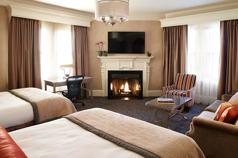 hotels with a fireplace in room.  Boutique Hotel Accommodations In Boston Book The Lowest Rates Online
