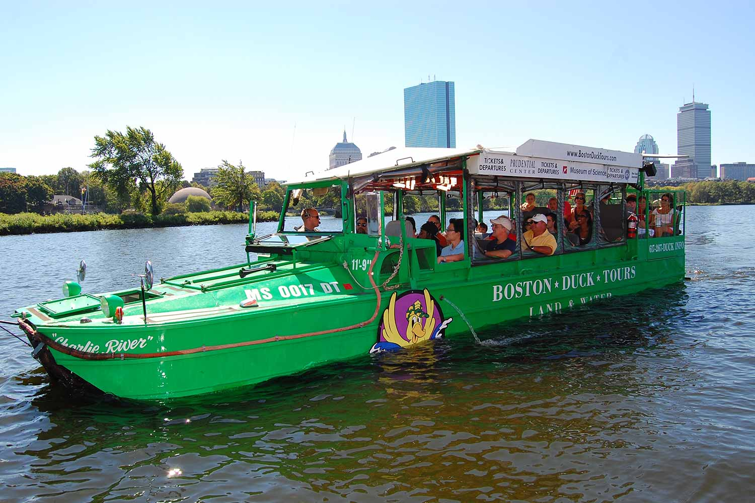 bston duck tours Boston duck tours (book now) depart daily mid-march through november and friday through sunday in december from the prudential center, daily year-round from the museum of science and daily april.